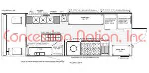 food truck floor plans food truck layout best layout room