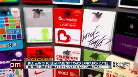 Gift Card Expiration Federal Law - nevada bill would eliminate gift card expiration dates ktnv com las vegas