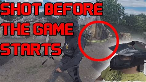 swings n things paintball getting hit across map before game starts funny moments