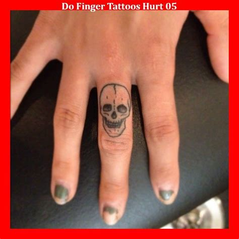 finger tattoo pain best 25 skull finger tattoos ideas on small
