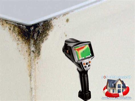 muffa pareti interne soluzioni termografia misura termografica della muffa e dell