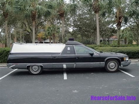 Cadillac Car For Sale by 1993 Cadillac Fleetwood Flower Car Hearse For Sale