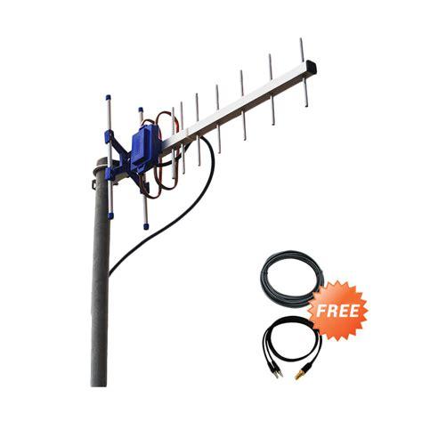 Antena Yagi Txr 145 Dual Driven Untuk Modem Zte Mf820 45db jual antena yagi txr145 dual pigtail for modem bolt slim dan max e5372s e5577 zte mf825a