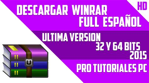 sua ultima version 2016 descargar e instalar winrar full espa 241 ol 2016 ultima