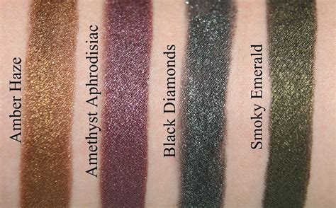 Eyeshadow Pensil tilbury colour chameleon eyeshadow pencils swatches reviews and looks review