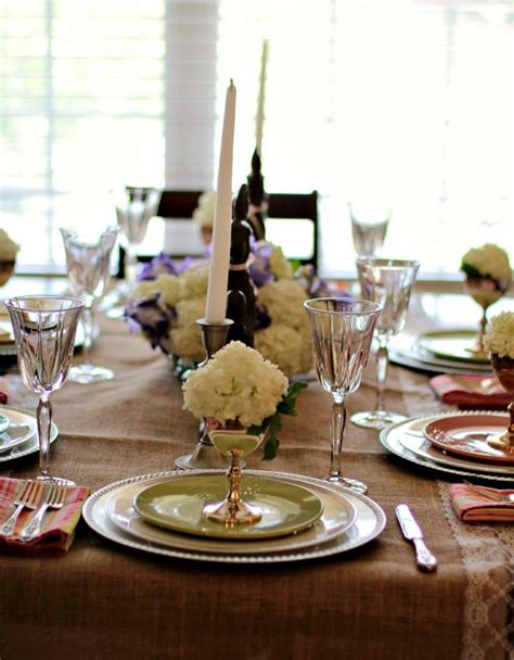 Table Settings Ideas Gardening High Heels To Wheels