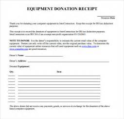 Tax Deductible Receipt Template Sample Donation Receipt Template 17 Free Documents In