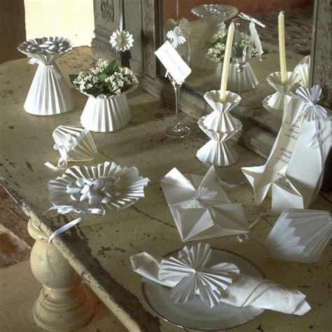 Decoration Origami by Des 233 L 233 Ments De D 233 Coration De Mariage En Origami