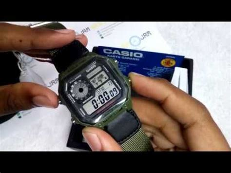 Jam Tangan Sport Casio Gshock Vs Baby G Model Te Berkualitas 1 casio standard ae 1200whb 3 doovi