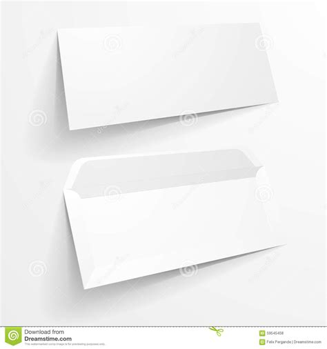 blank mockup templates mockup envelopes stock illustration image 59545458