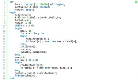 Kandang Kucing Susun tinggi kandang susun programming pascal