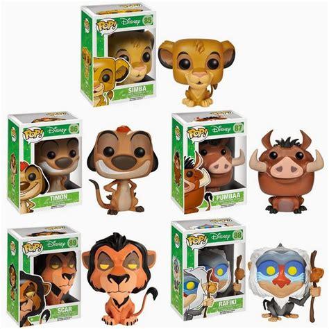 Pop Disney The King Pumbaa Vinyl Figure 87 Vaulted B41 the king pop disney vinyl figures by funko simba timon pumbaa scar rafiki funko