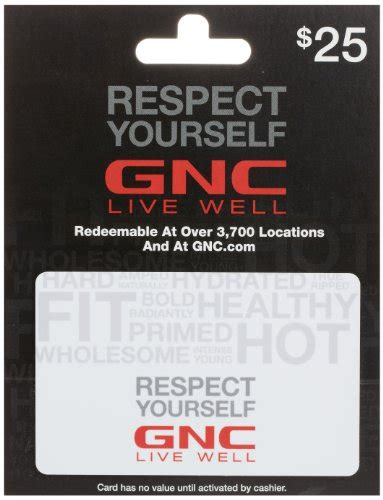 Buy Gnc Gift Card - gnc gift card 25 arts entertainment party celebration giving cards certificates