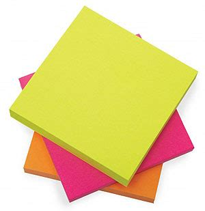Post It Note Memo Sticky Stick Notes Pastel Rainbow Color other pad formats sticky notes