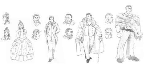frankenstein main characters by contramonster on deviantart sketch characters in frankenstein by vanathel on deviantart