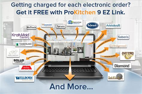 get electronic orders free with prokitchen 9 ez link