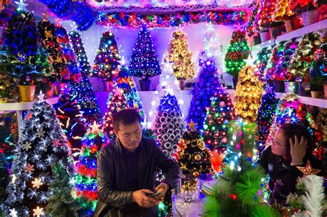 yiwu the chinese city where it s christmas every day