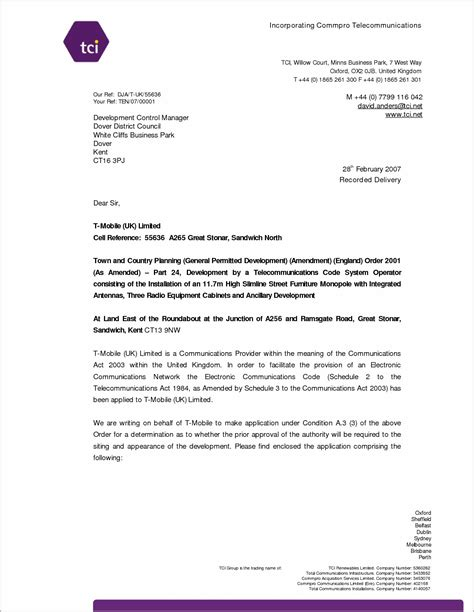covering letter for cover letter for application exle uk cover letter