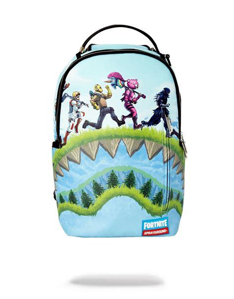 fortnite  sprayground backpack   fortnite intel