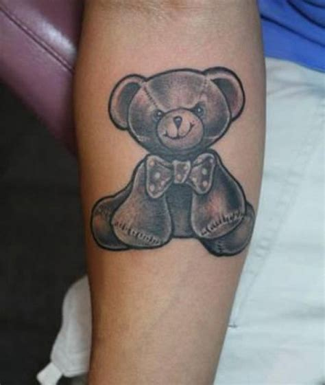 small bear tattoo tattoos