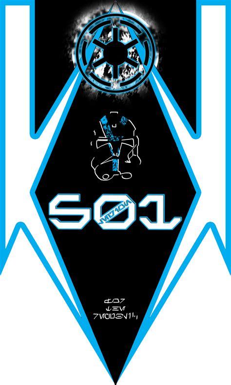 501st legion late clone war standard design by