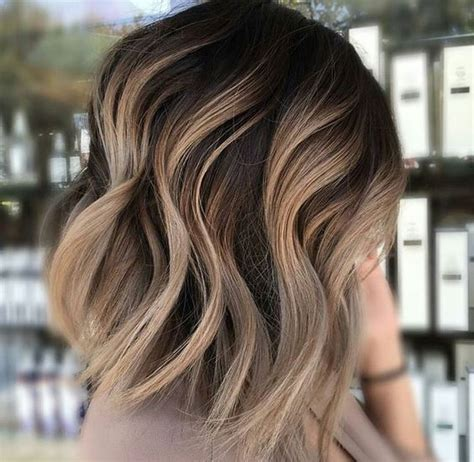 ombre bunette blonde brunette on bottom the 40 hottest short haircuts for 2016 dark brown ombre