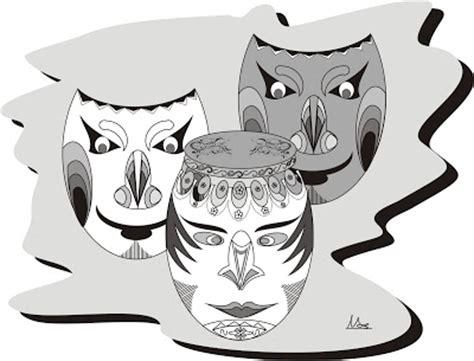 desain gambar wajah batik contoh desain gambar batik