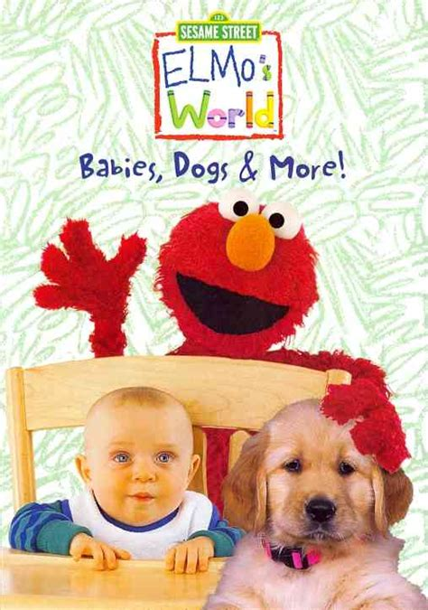 elmo s world dogs elmo s world babies dogs more by elmo s world dvd