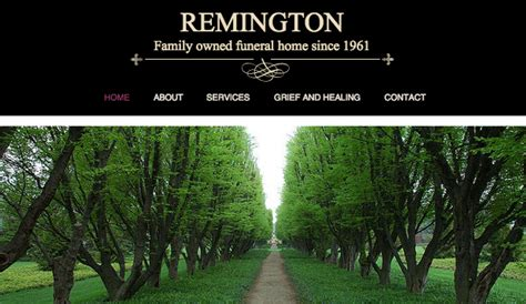 Community Education Website Templates Wix 4 Funeral Home Website Templates