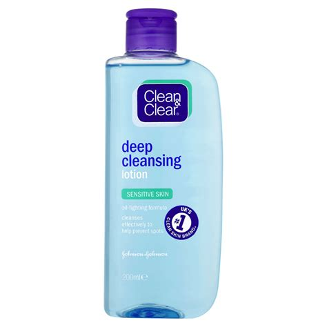 What Moisturizer To Use After Skinn Pore Detox Cleanser by Clean Clear Cleansing Lotion 200ml At Wilko