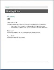 simple meeting minutes template sle meeting minute templates formal word templates