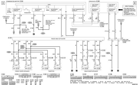mitsubishi l200 headlight wiring diagram wiring diagram