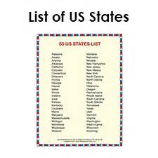 list of all us states list of states in alphabetical order social studies