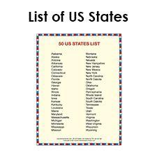 list of states in alphabetical order social studies
