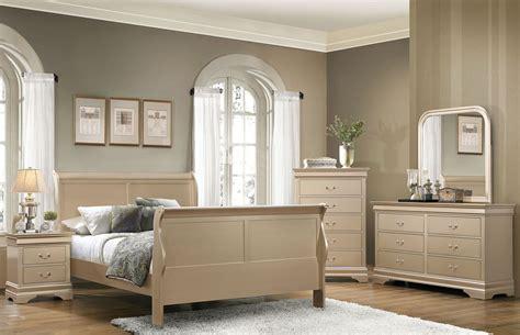 metallic bedroom furniture hershel louis philippe metallic chagne panel bedroom