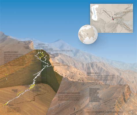 deep climb  uzbekistans dark star cave