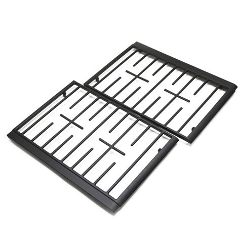 whirlpool black whirlpool wfg520s0as1 burner grate kit black genuine oem