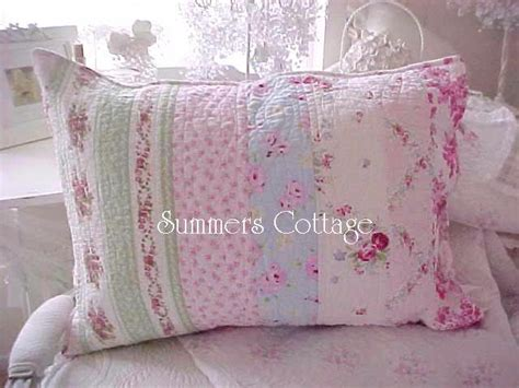shabby chic bedding cottage pillows amp shams