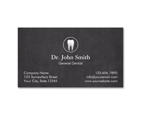 dentist business cards free templates dentist dental clinic business card template 40 free