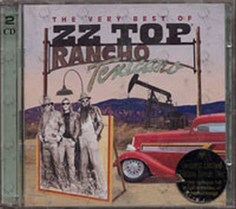 zz top bar bq zz top rancho texicano the very best of zz top album cd rare records