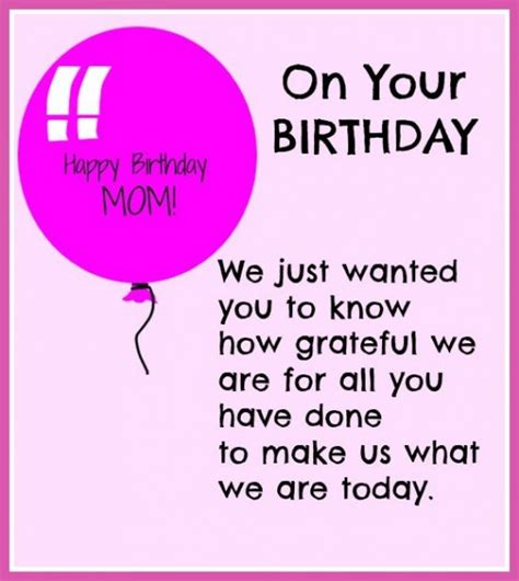 Quotes For Mothers Birthday Happy Birthday Mom Quotes Birthday Quotes For Mother