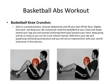 basketball abs workout