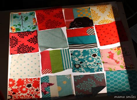 Patchwork How To - easy diy patchwork doll quilt tutorial smiles