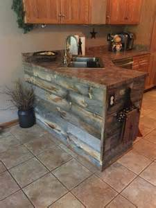How To Build Rustic Cabinets 25 Best Ideas About Pallet Kitchen Cabinets On
