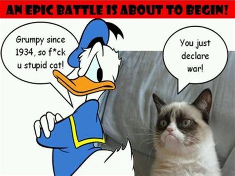 Donald Duck Meme - donald duck church of grumpy cat pinterest donald o