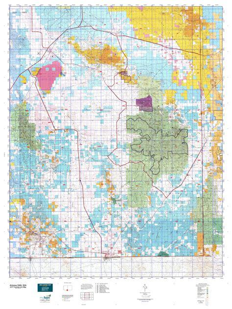 30a map arizona gmu 30a map mytopo