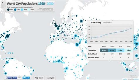 world city population map mapping worldwide population growth geolounge all