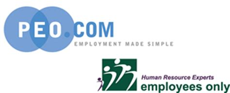 professional employer organization peo employees only human employees only partners with peo com employees only