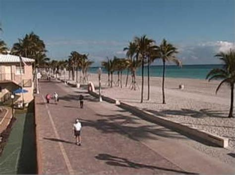 hollywood beach weather live hollywood city beach weather webcam broward county