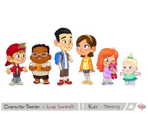 Kids Standing By Luigil On Deviantart | kids standing by luigil on deviantart